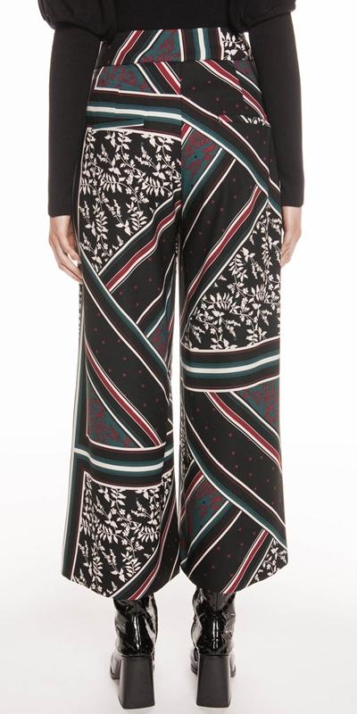 Pants   Scarf Print Pant