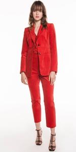 Pants | Mandarin Velveteen Trouser