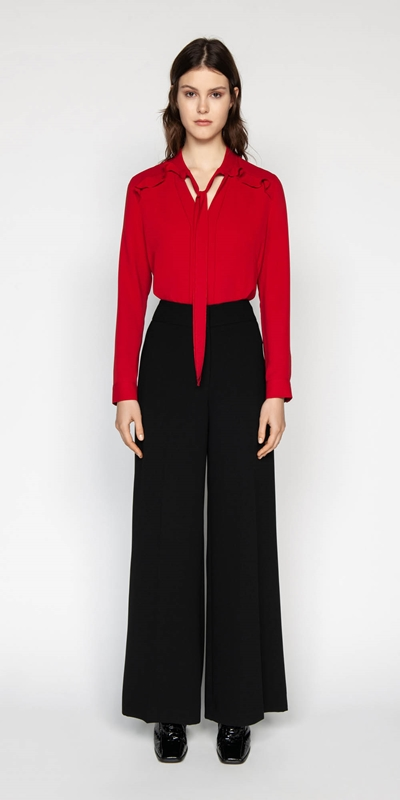 Made in Australia | Crepe Wide Leg Pant