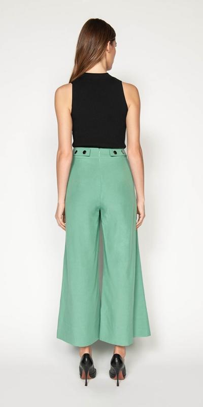 Pants | Linen Wide Leg Pant