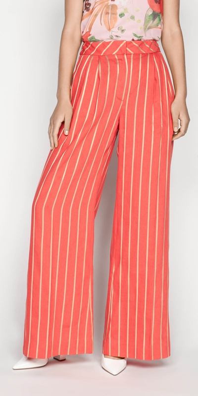 Pants  | Gold Stripe Pant