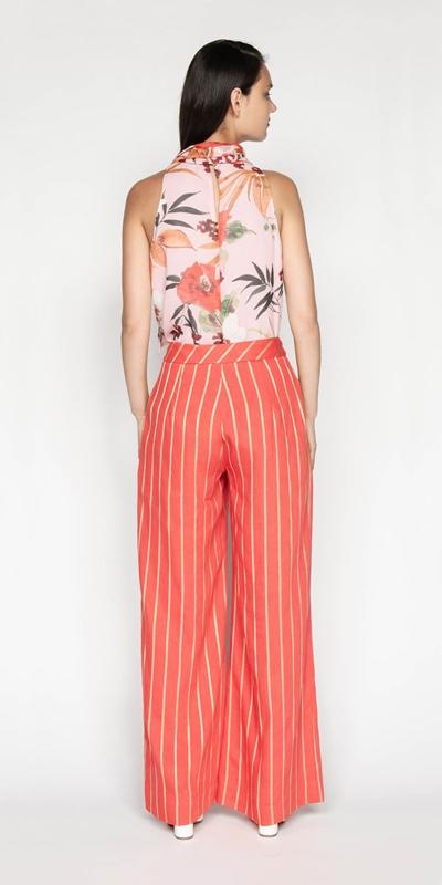 Pants | Gold Stripe Pant