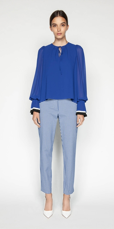 Made in Australia | Gingham Skinny Leg Pant
