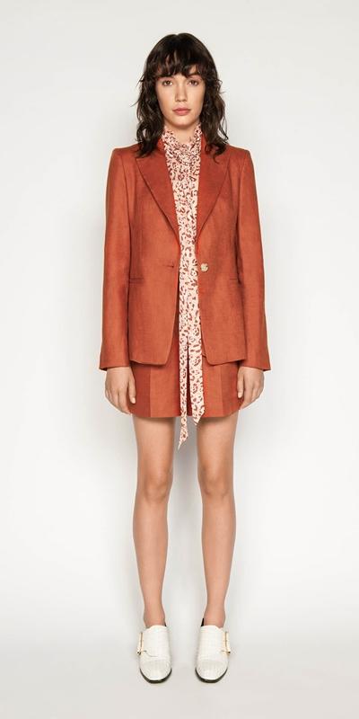 Made in Australia | Belted Linen Short