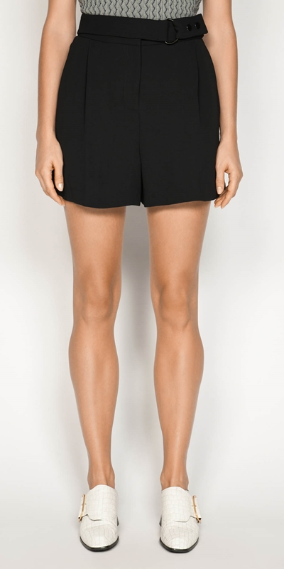 Made in Australia  | Crepe Belted Short