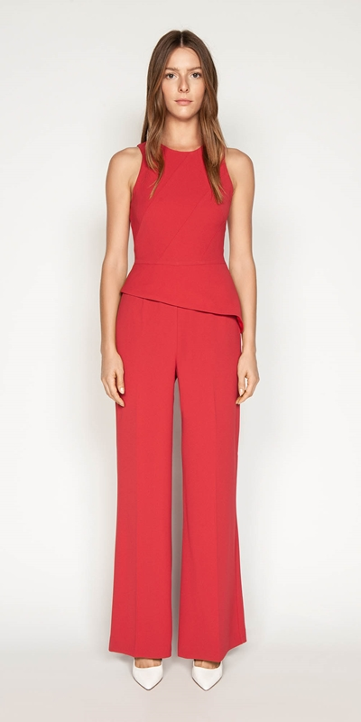Made in Australia | Crepe Asymmetric Jumpsuit
