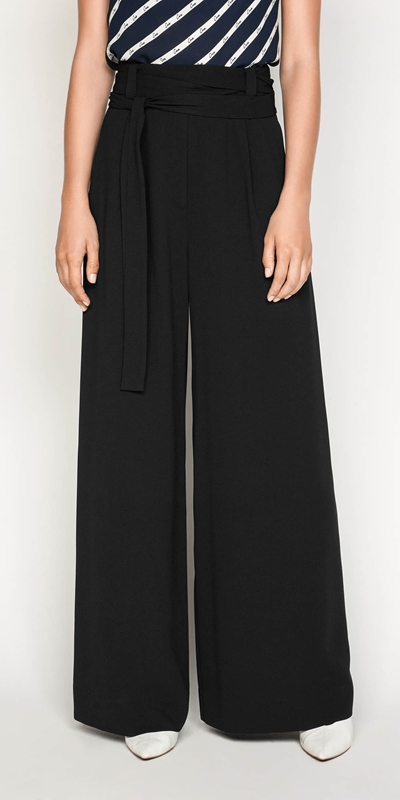 Pants  | Front Tuck Wide Leg Pant