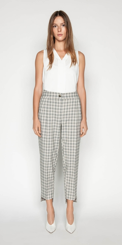 Sale | Houndstooth Tapered Pant