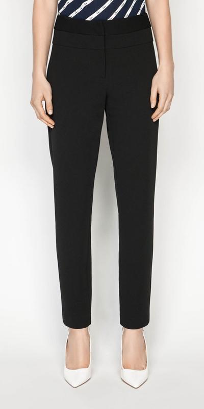 Pants    Crepe Skinny Leg Pant