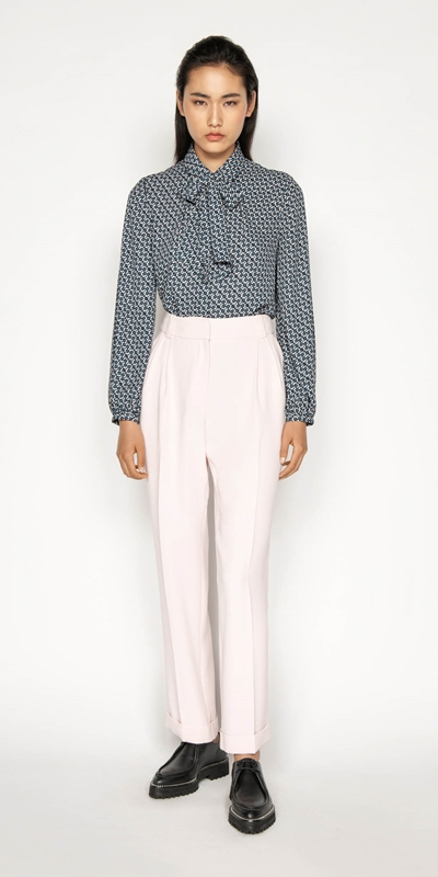 Sale | Pink Straight Leg Trouser
