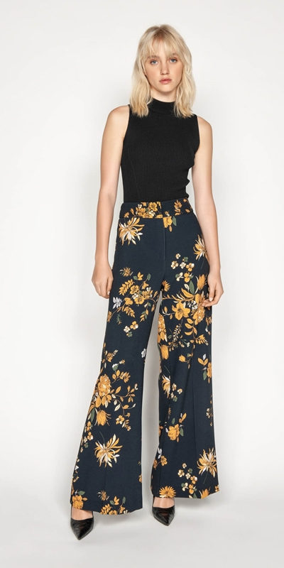Made in Australia | Golden Rose Wide Leg Pant