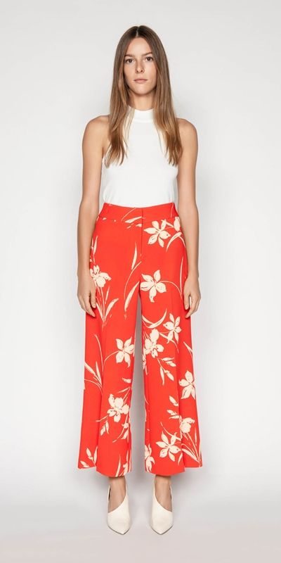 Outlet | Iris Crepe Wide Leg Pant