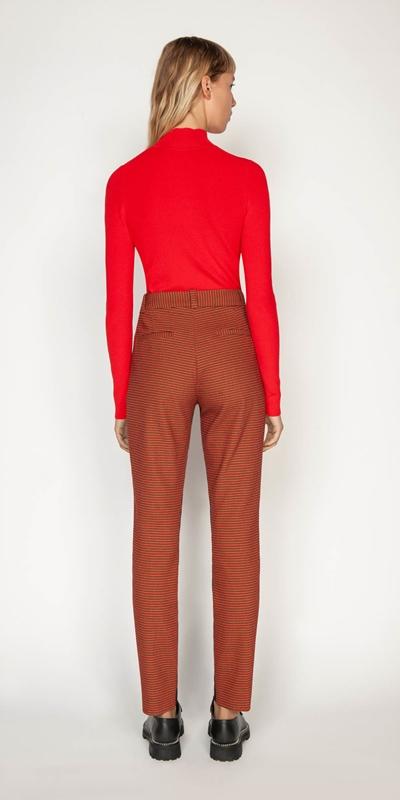 Pants | Russet Check Skinny Pant