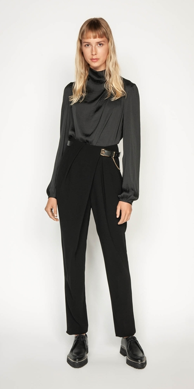 Wear to Work | High Waisted Tapered Pant