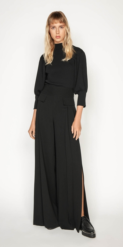 Sale | Split Pleat Front Pant