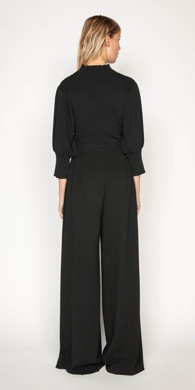 Pants | Split Pleat Front Pant