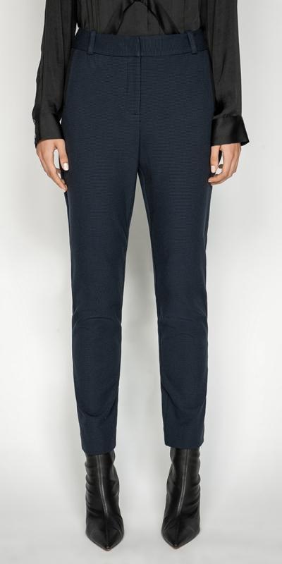 Pants | Houndstooth Skinny Leg Pant
