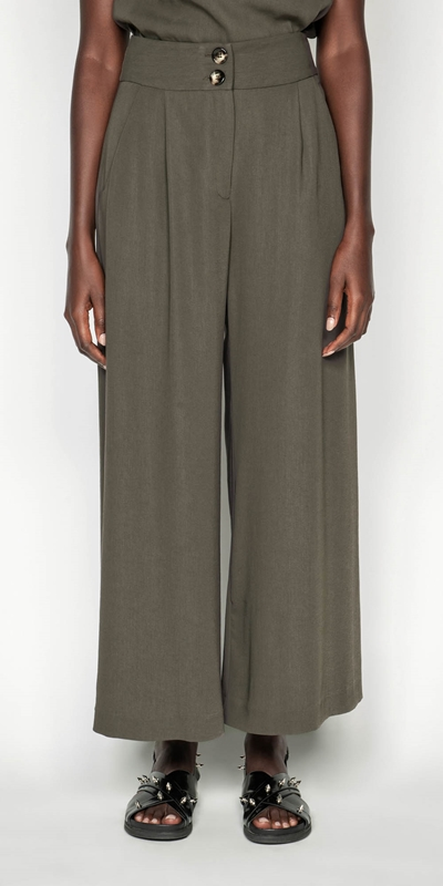 Wear to Work  | Drapey Wide Leg Pant