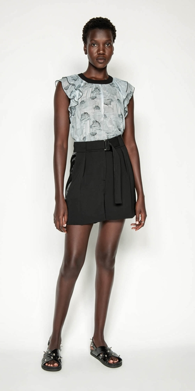 Made in Australia | Belted Crepe Short