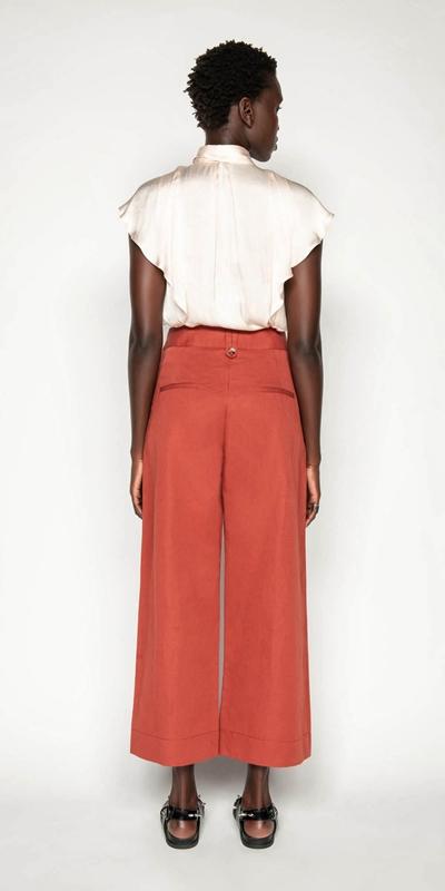 Pants | Cotton Linen Twill Pant