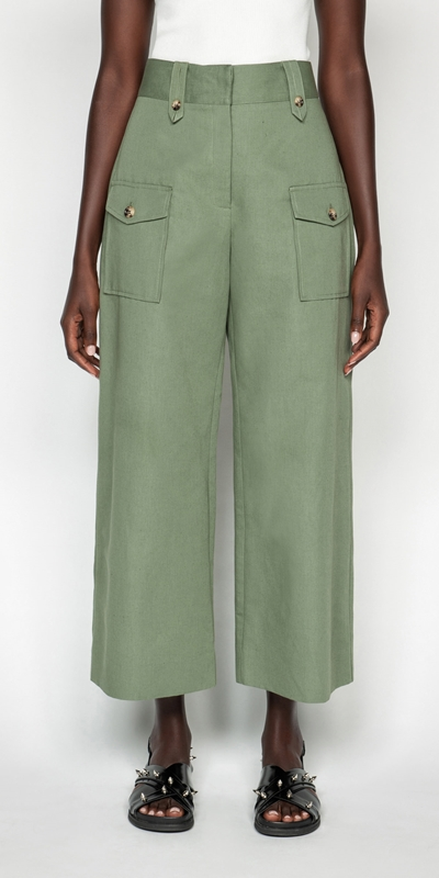 Pants  | Cotton Linen Twill Pant