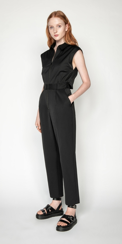 Jumpsuits | Cotton Twill Jumpsuit