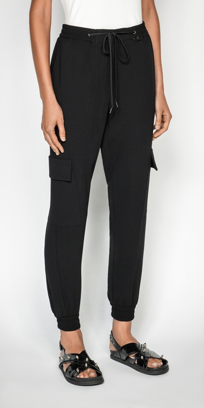 Made in Australia  | Crepe Track Pant