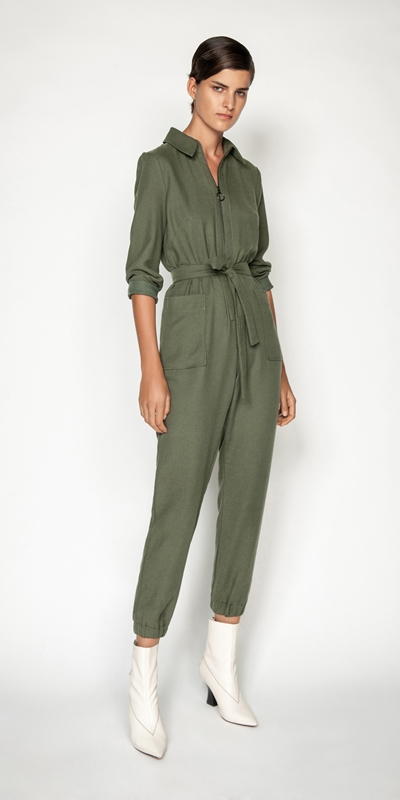 Made in Australia | Linen Blend Jumpsuit