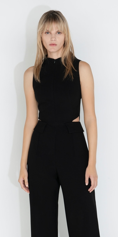 Cue Cares - Sustainable  | Cut Out Jumpsuit