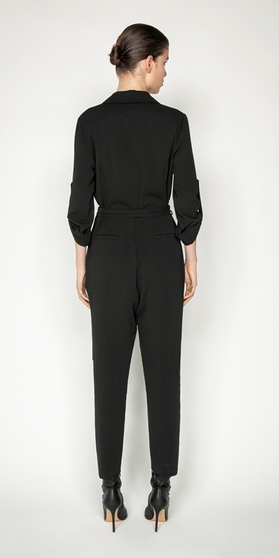 Jumpsuits | Trench Tapered Jumpsuit