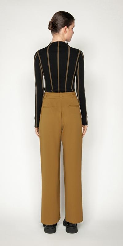 Pants | Front Split Wide Leg Pant