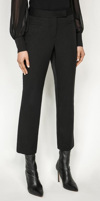 Pants | Eco Twill Cropped Boot Leg Pant