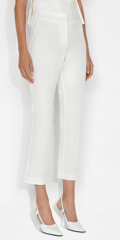 Cue Cares - Sustainable  | Organic Cotton Cropped Pant