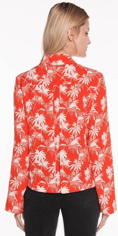 Tops | Tropical Palm Shirt
