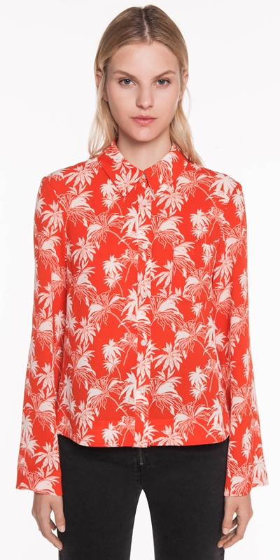 Tops  | Tropical Palm Shirt