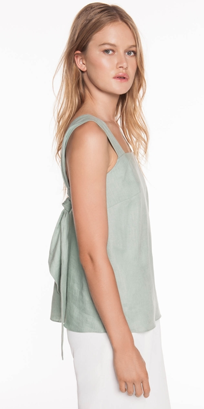 Made in Australia  | Soft Linen Top