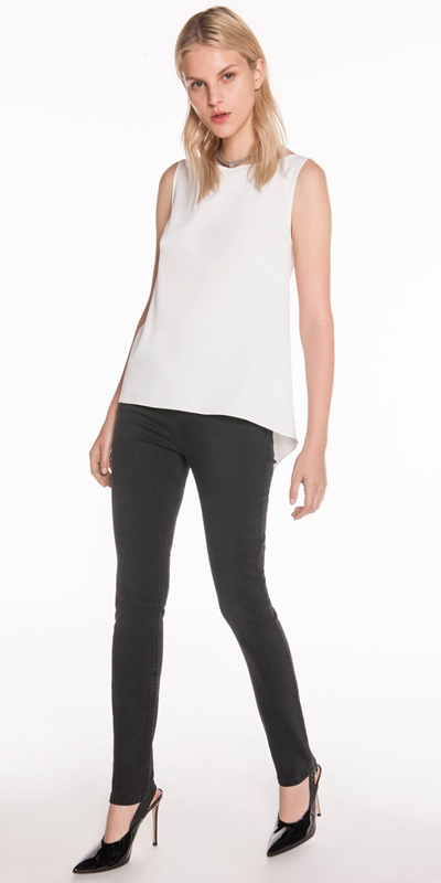 Sale  | Crepe Relaxed Top
