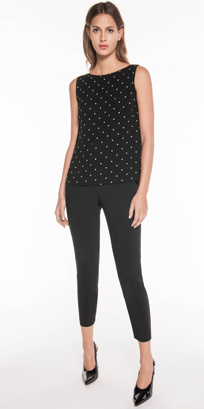 Sale  | Drapey Spot Relaxed Top