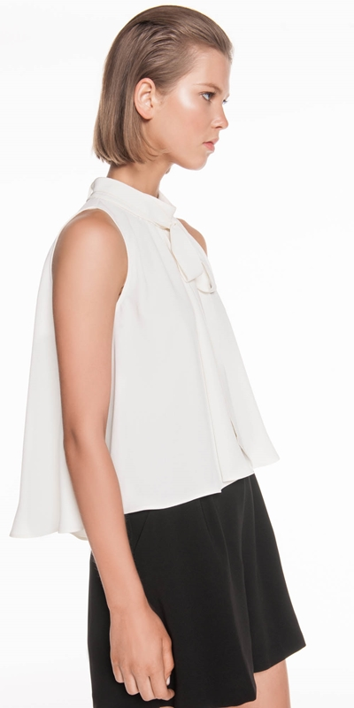 Made in Australia | Tie Neck Top