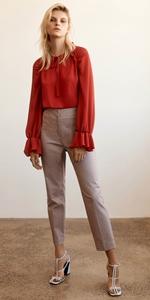 Tops | Crinkle Georgette Raglan Sleeve Top