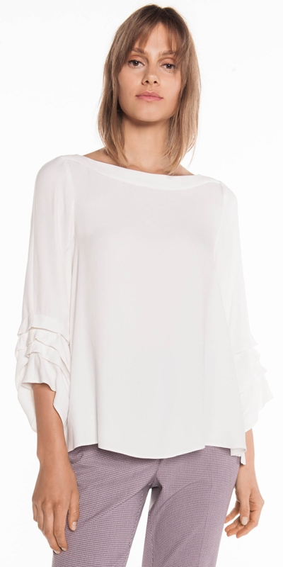 Made in Australia  | Tuck Sleeve Top
