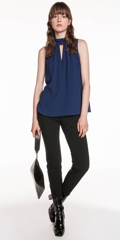Tops  | Keyhole Trapeze Top