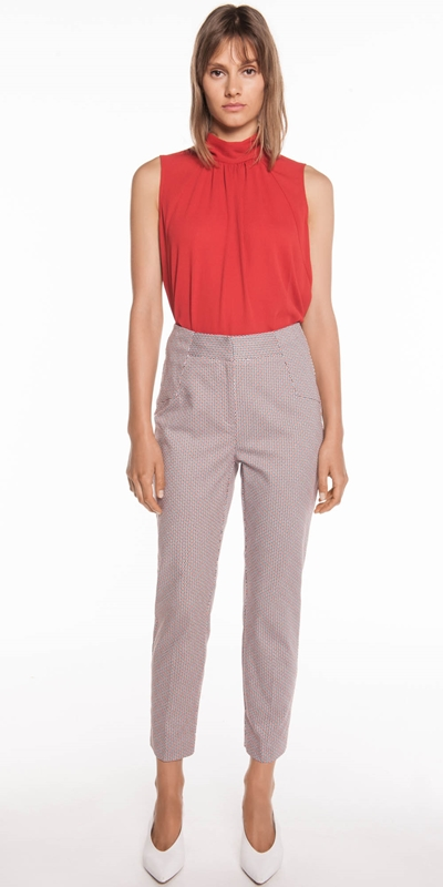 Wear to Work | Crinkle Georgette Trapeze Top