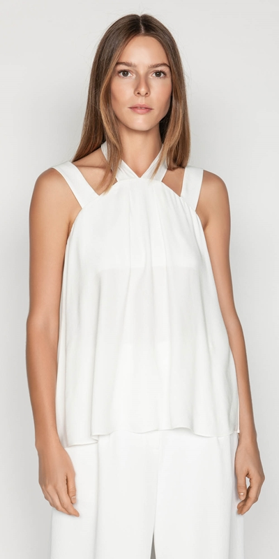 Tops  | Strappy Trapeze Top