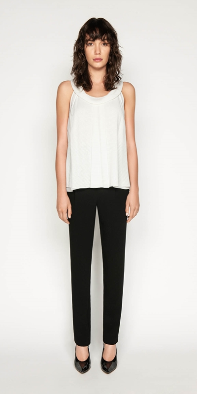 Made in Australia | Cowl Neck Trapeze Top