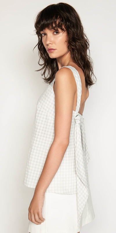 Tops | Soft Gingham Top