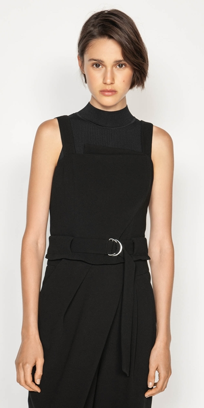Made in Australia  | Belted Crepe Bustier