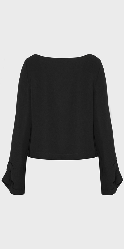 Sale  | Tuck Sleeve Top
