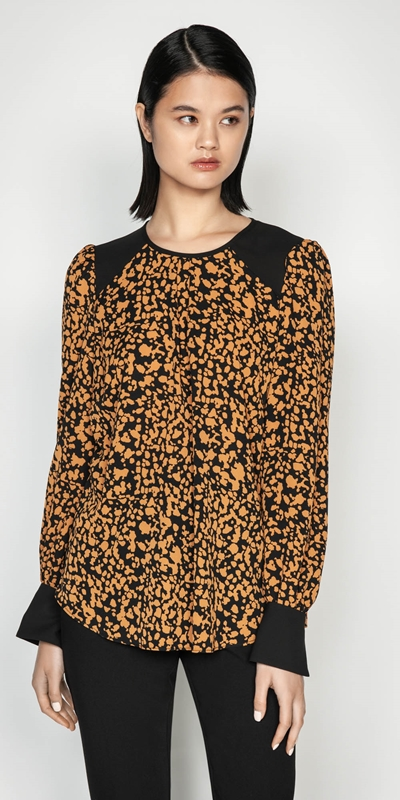 Sale  | Abstract Spot Top