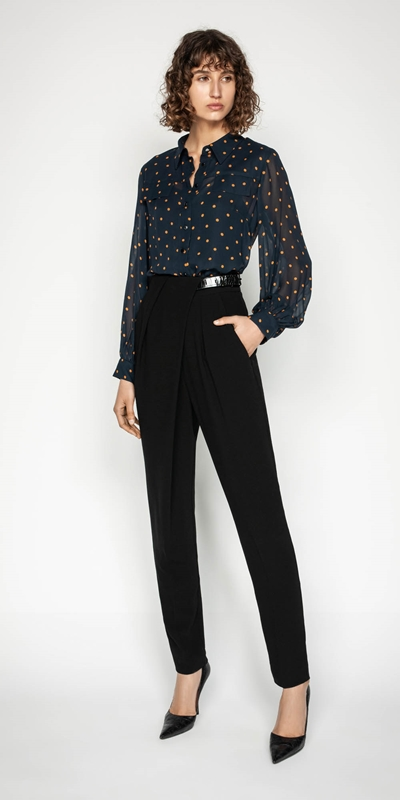 Wear to Work | Spot Relaxed Shirt
